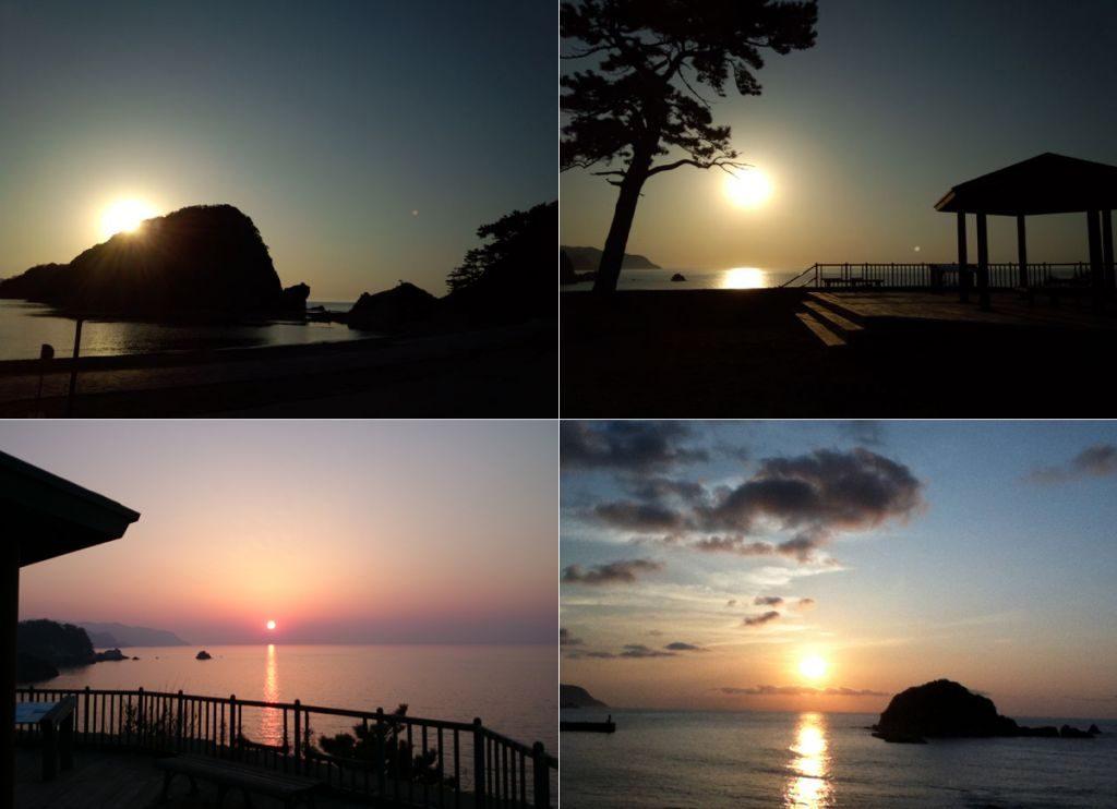 【春~初夏】夕陽画像合計